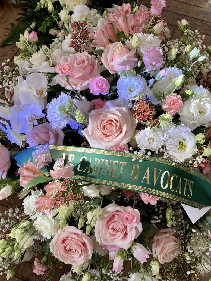 bouquet rouge deuil Saintbouquet pastel Cloud le Chapelin Fretz