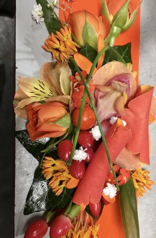 centre de table mariage fleuriste Saint Cloud le Chapelin Fretz