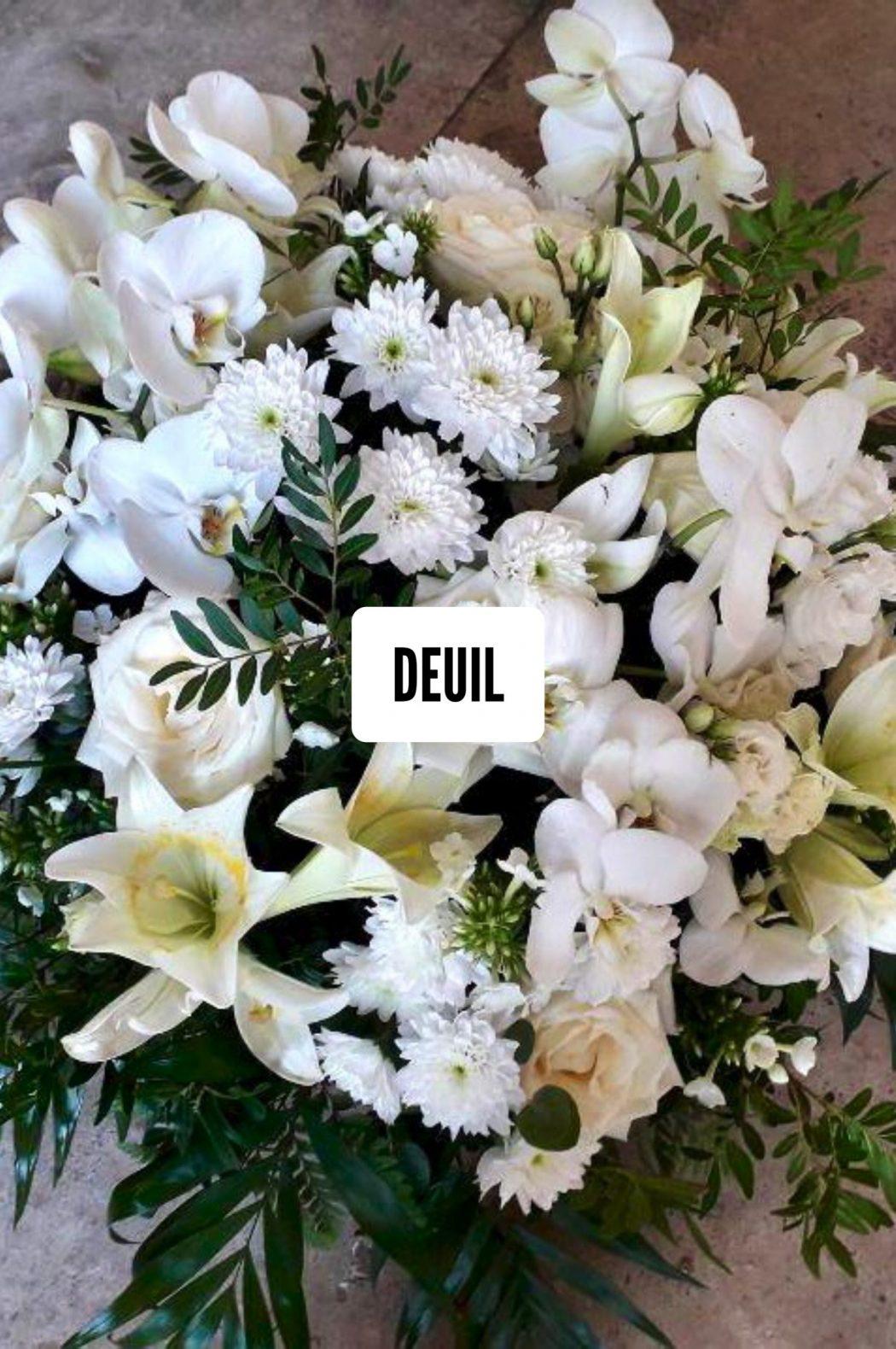 fleuriste deuil Saint Cloud le Chapelin Fretz