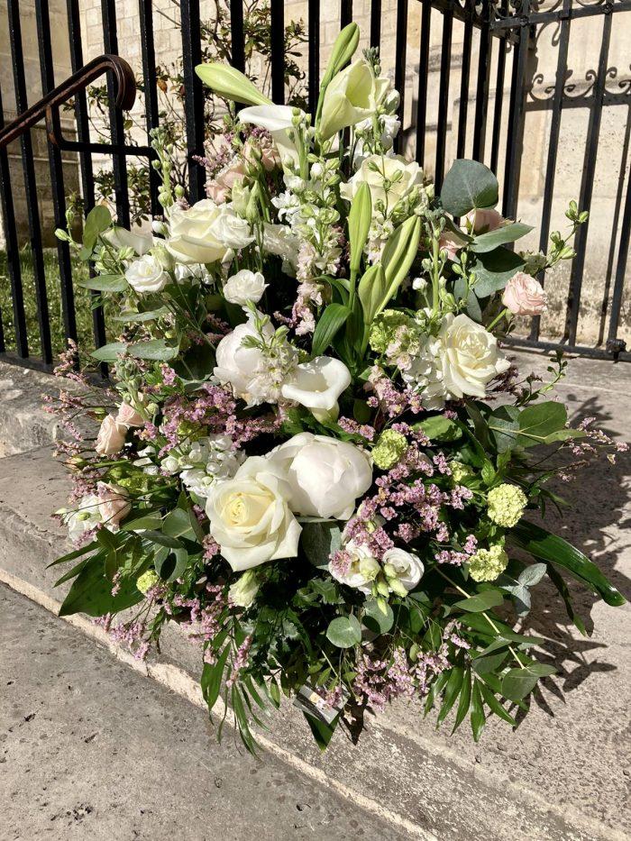 fleurs mariage saint cloud le Chapelin Fretz