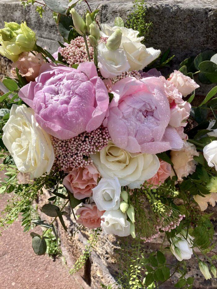 fleuriste mariage Saint Cloud, le Chapelin Fretz 7