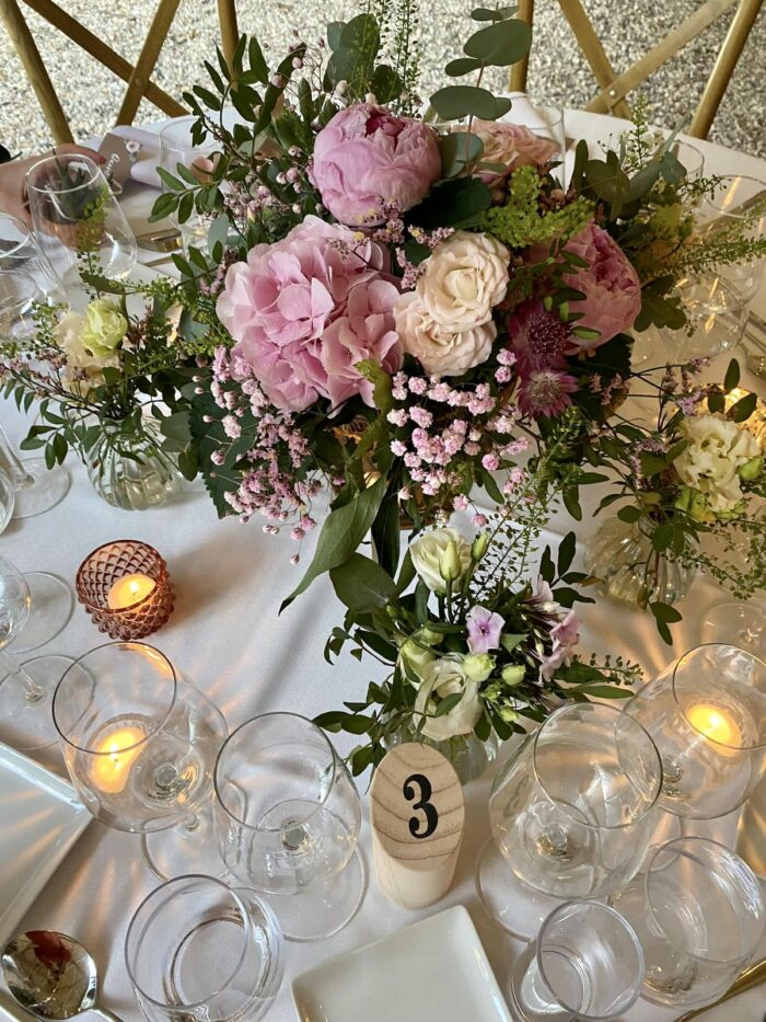 fleuriste mariage Saint Cloud, le Chapelin Fretz 12
