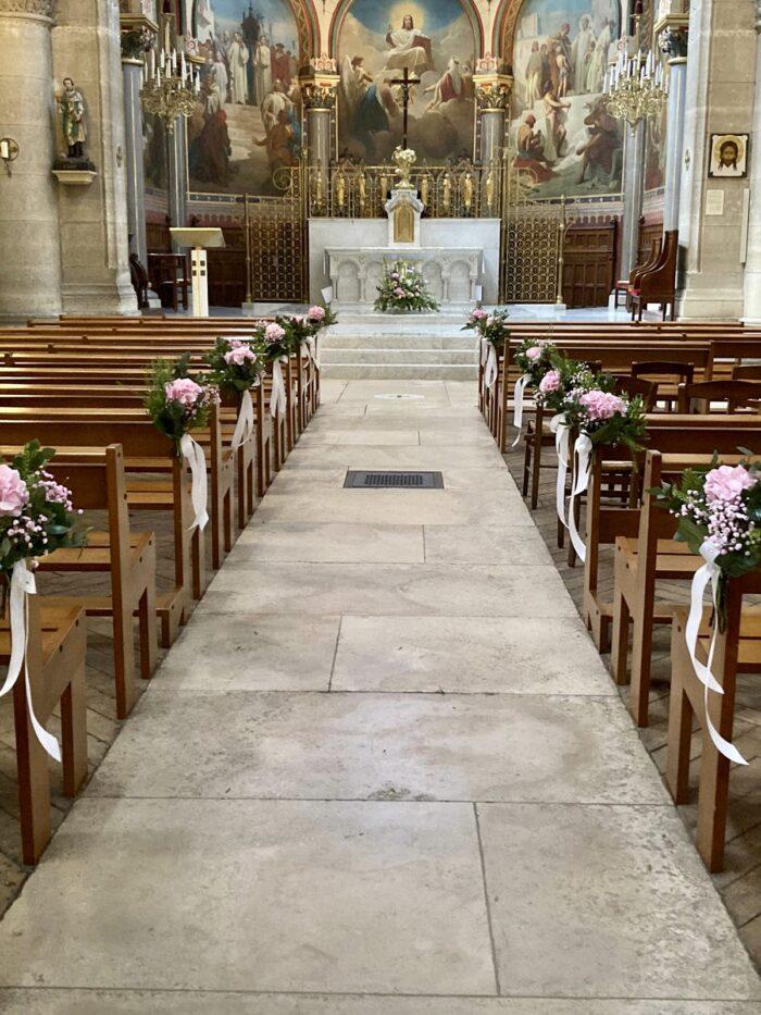 fleuriste mariage Saint Cloud, le Chapelin Fretz 5