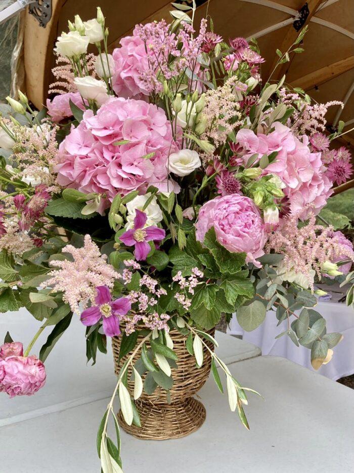 fleuriste mariage Saint Cloud, le Chapelin Fretz 10