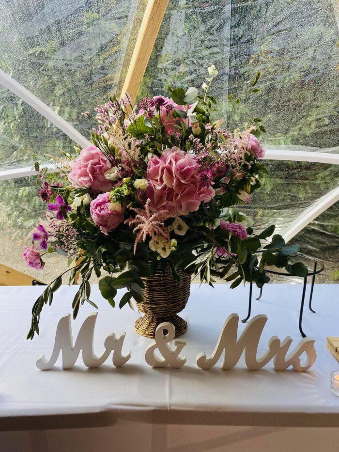 fleuriste mariage Saint Cloud, le Chapelin Fretz 13