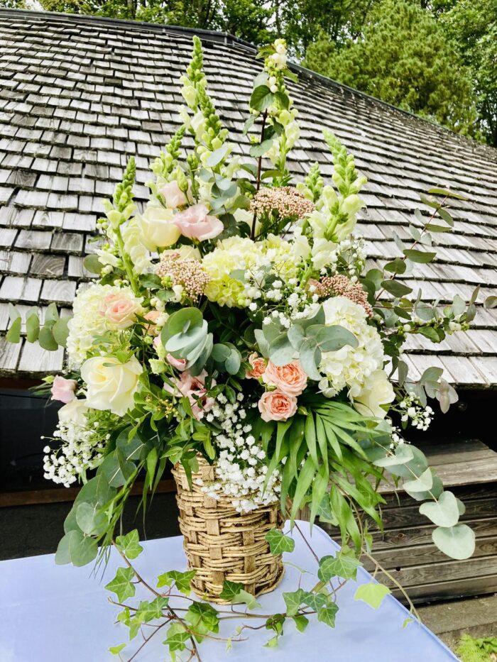 fleuriste mariage Saint Cloud, le Chapelin Fretz 8