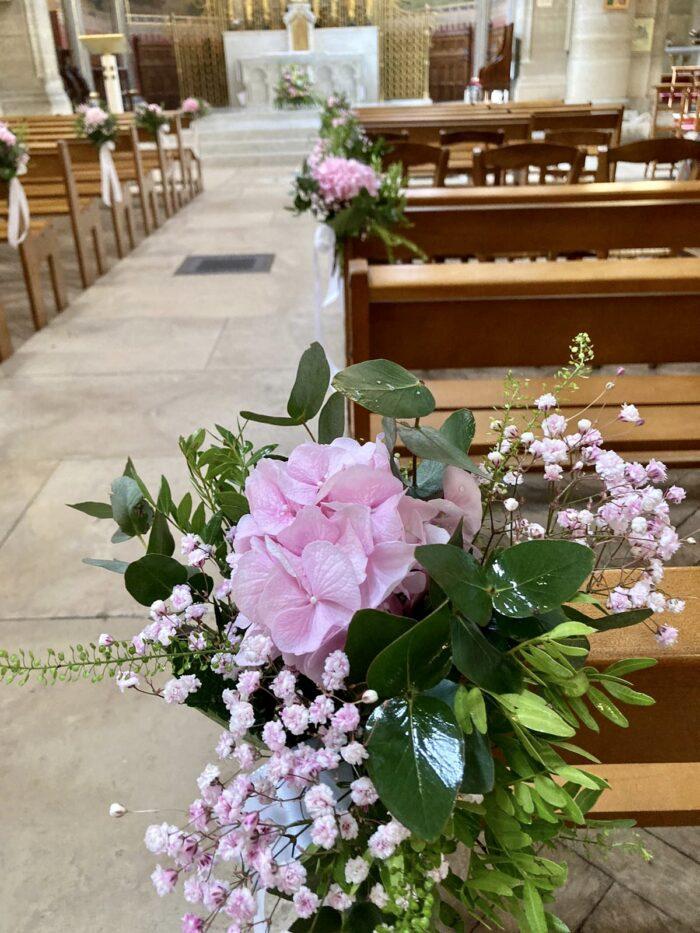 fleuriste mariage Saint Cloud, le Chapelin Fretz 11