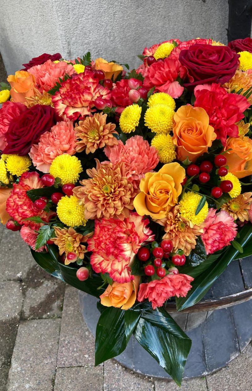 coeur deuil fleuriste Saint Cloud le Chapelin Fretz